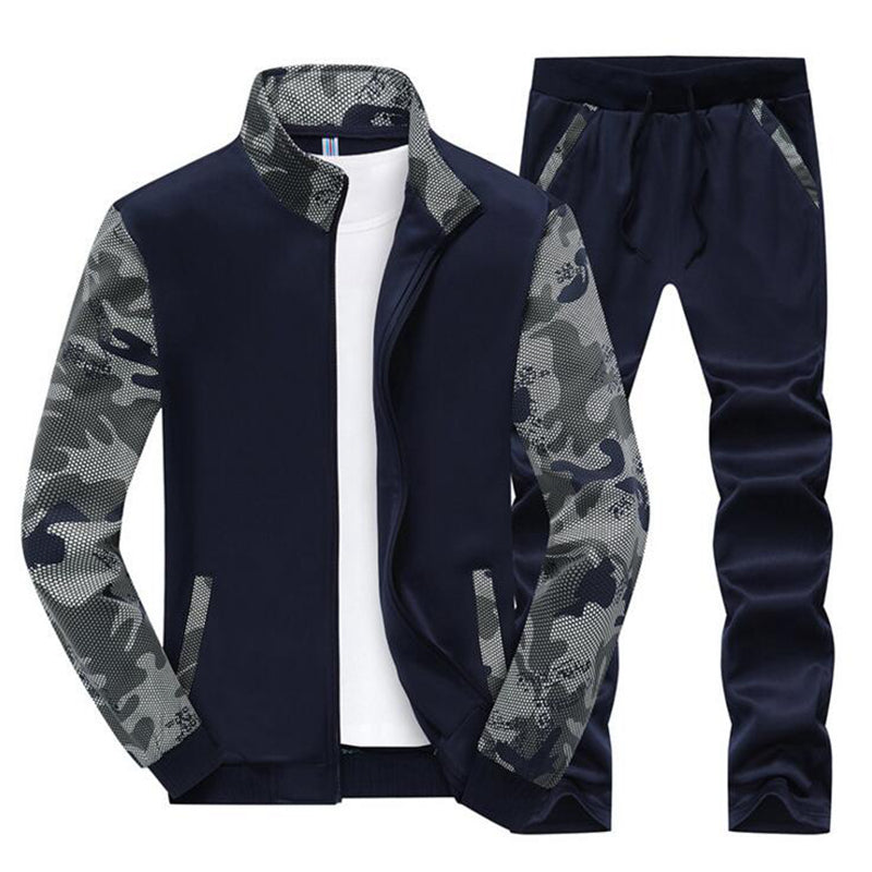 Men's Sport Suits- Long Sleeve Sportswear, Outdoors_ running_ clothing for Men