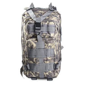 Military Tactical Outdoor Hiking Camouflage Backpack