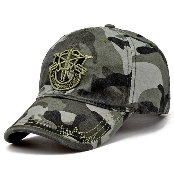 Tactical Camouflage Adjustable Military Cap