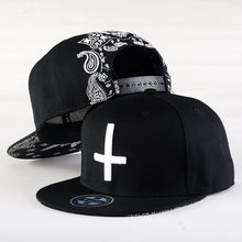 Load image into Gallery viewer, Cross Embroidered Casual Adjustable Snapback*