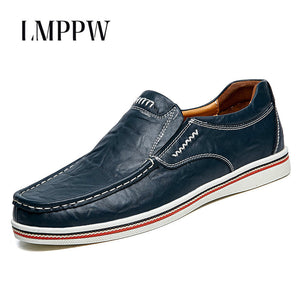 Mens New England Doug Casual Mens Leather Loafers