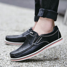 Load image into Gallery viewer, Mens New England Doug Casual Mens Leather Loafers