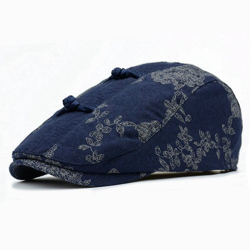 DOWER ME Floral Print Irish Style Duckbill*