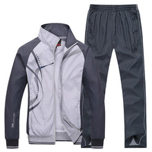 Load image into Gallery viewer, Men's Sports Suits- breathable Pants Jackets- Running Tracksuits Fitness Gym