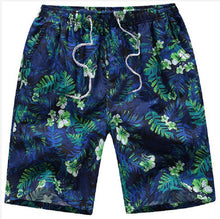 Load image into Gallery viewer, MENS FLORAL PATTERN PRINT QUICK DRYING SURF BOARD SHORTS