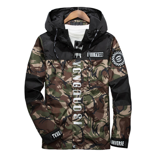 Camouflage 3M Reflective Field Coat