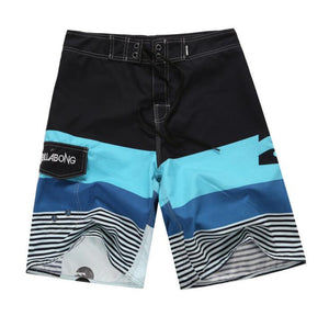 MENS QUICK DRYING PRINTED SURF BOARD SHORTS