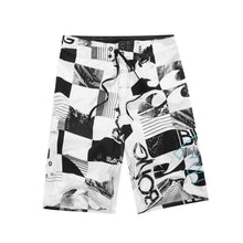 Load image into Gallery viewer, MENS QUICK DRYING PRINTED SURF BOARD SHORTS