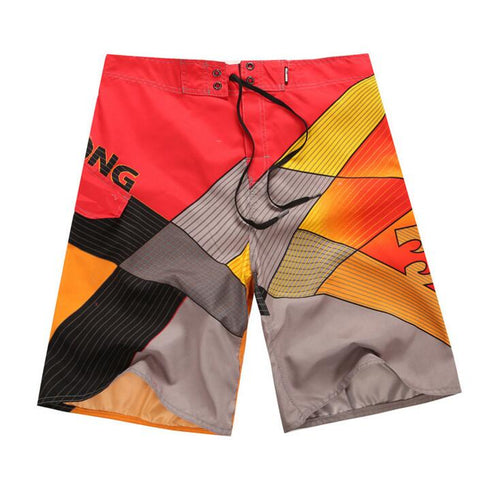 MENS QUICK DRY PRINT PATTERN BREATHABLE BOARD SHORTS