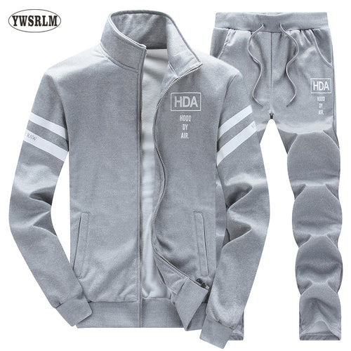fcbf12f60 Spring Autumn Men s Track suits- Mens Casual Sweatshirts and Pants Set