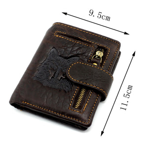 Vintage Luxury Genuine Leather Wallet