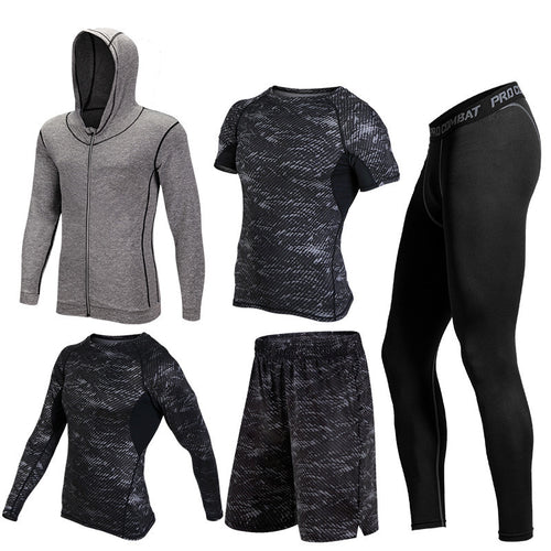 5 Piece Quick Dry Fitness Compression Set*