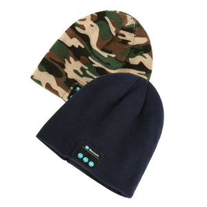 Winter Bluetooth 3.0 Hat- USB Beanie Camouflage Wireless Headset