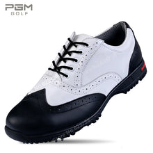 Load image into Gallery viewer, Mens Pgm Cowhide Leather Golf Shoes