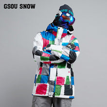 Load image into Gallery viewer, Mens Wind And Waterproof Super Warm Ski/Snowboard Suit