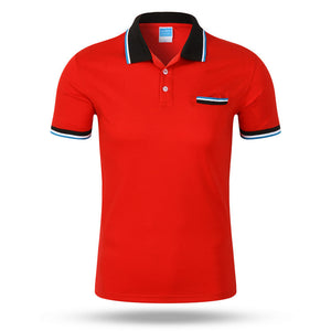 Shirts Summer Style Polos Short Sleeve