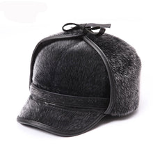 Load image into Gallery viewer, Russian Style Retro Ear Flap Baseball Hat