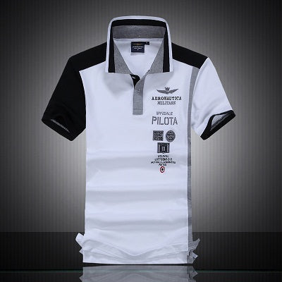 Mens Colorful Short Sleeve Embroidered Polo* (M-2XL)