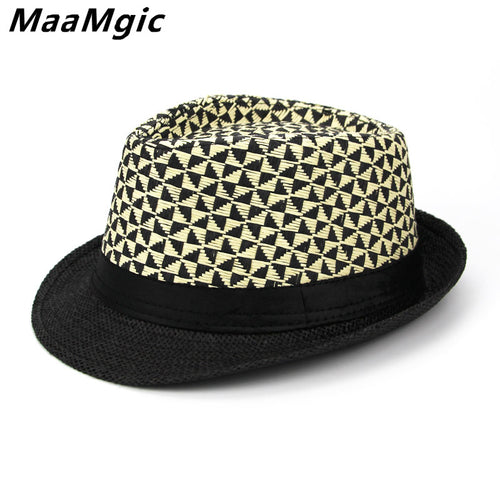 Classic English Style Retro Print All Season Fedora