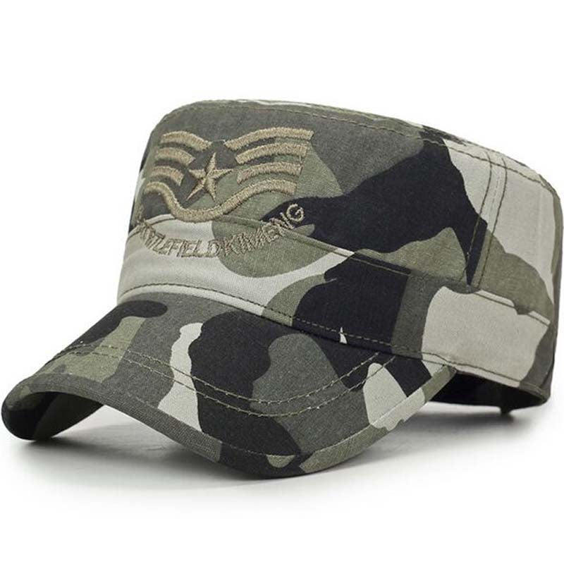 New US ARMY Adjustable Fitted Cotton Military Hat – HUB TITAN 4ff15f045b5