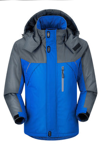 Thick Super Warm Hooded Mountain Parka