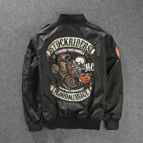 New Strokeriders MA-1 Bomber Pilot Jacket