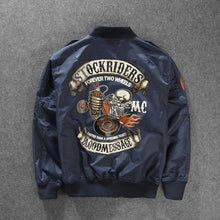 Load image into Gallery viewer, New Strokeriders MA-1 Bomber Pilot Jacket