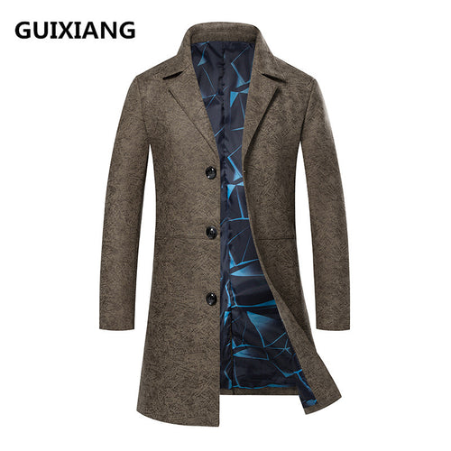High Quality Slim Fit Casual Trench Coat* (M-3XL)