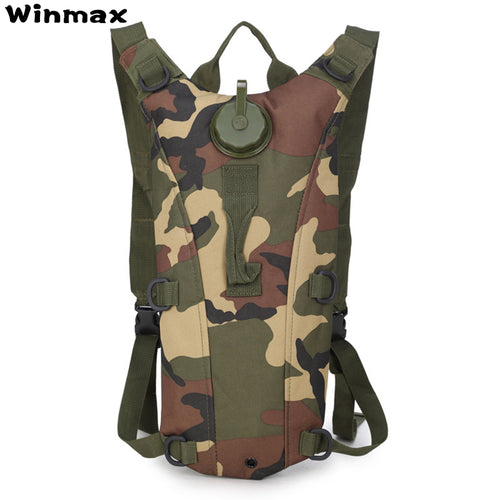 2L Tactical Camouflage Hydration Pack