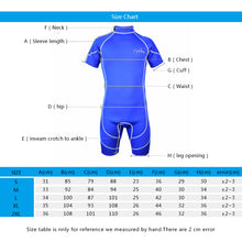 Load image into Gallery viewer, 3mm Neoprene Short Sleeve Surf Suit(One-Piece)