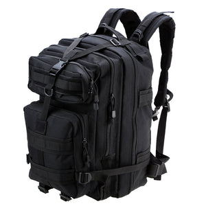 Black 45L 3P Outdoor Tactical Military Backpack