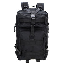 Load image into Gallery viewer, Black 45L 3P Outdoor Tactical Military Backpack