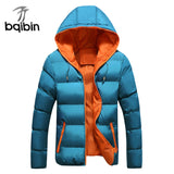 Winter Hooded Padded Parka