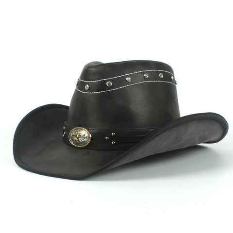 98337b04b1964 9 Assorted Styles Of Designer Cowboy Hats From Leather