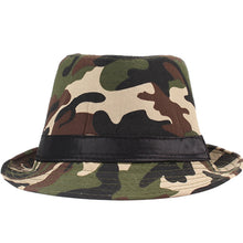 Load image into Gallery viewer, AETRENDS Summer Camouflage Panama Fedora