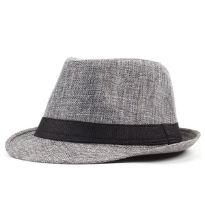 AETRENDS Classic Straw Panama