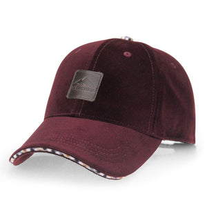 AETRENDS BRAND WINTER WOOL BASEBALL CAP 4 COLORS