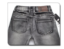 Load image into Gallery viewer, Mens Straight Denim Retro Classic Jeans