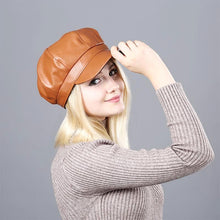 Load image into Gallery viewer, Octagonal Newsboy Beret Cap