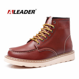 Waterproof Men's Ankle Motorcycle Boots