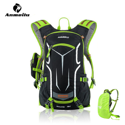 18L Waterproof Cycling Hydration Pack w/Rain Cover