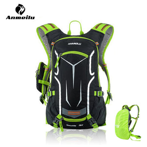43304d885 18L Waterproof Cycling Hydration Pack w Rain Cover