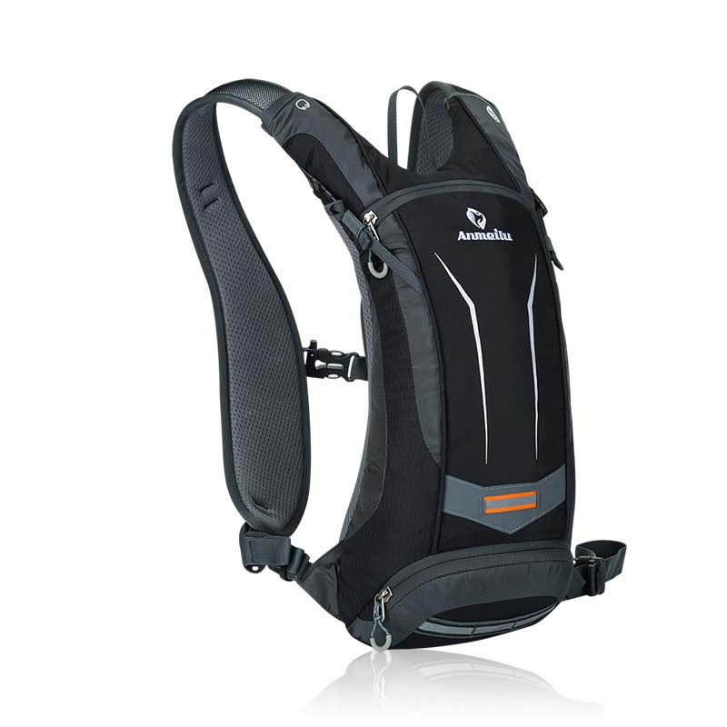 8L Waterproof Nylon Cycle Pack w/2L Hydration Bladder