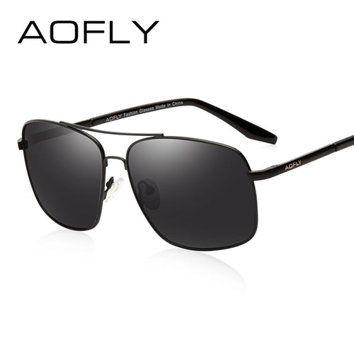 42ed30300 AOFLY Double Bridge Polarized HD Shades Model AF6107