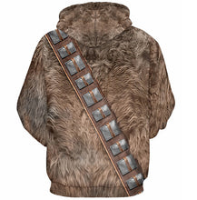 Load image into Gallery viewer, 3D Hooded Star Wars Chewbacka Print Hoodie* (S-3XL)