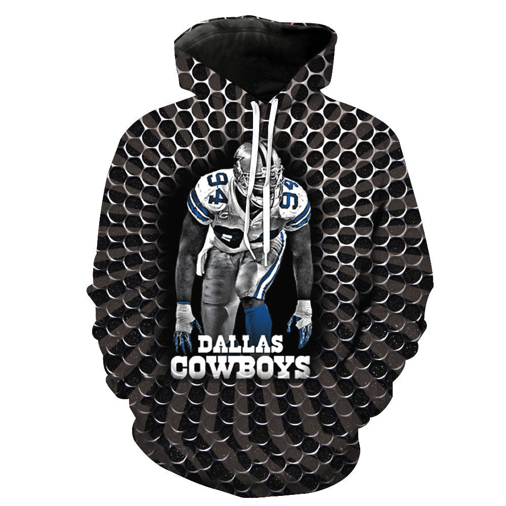427cb3d68 3D Hooded Dallas Cowboys Print Hoodie  (S-6XL) (Assortment) – HUB TITAN