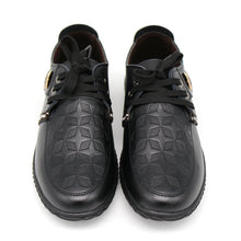 Load image into Gallery viewer, Soft  Italian Leather Lace-Up Flats