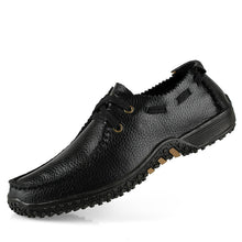Load image into Gallery viewer, Mens Genuine Leather Luxury Brogue Loafers