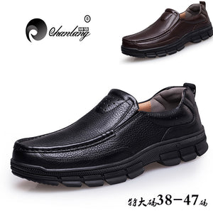Mens Genuine Leather Italian Style Classic Loafers