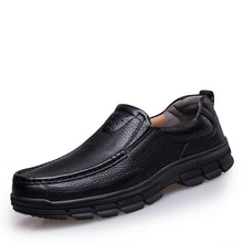 Load image into Gallery viewer, Mens Genuine Leather Italian Style Classic Loafers
